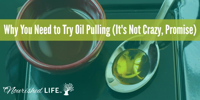 Why You Need to Try Oil Pulling (It's Not Crazy, Promise) Oil on a spoon