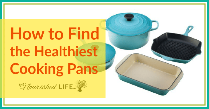 How to Find the Healthiest Cooking Pans + Safe Cookware: pretty blue cookware