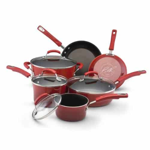 Anodized nonstick red cookware: Healthiest Cooking Pans - Safe Cookware - Livingthenourishedlife.com