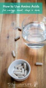 How to Use Amino Acids for Sleep, Energy + Mood | The