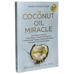 The Coconut Oil Miracle book cover