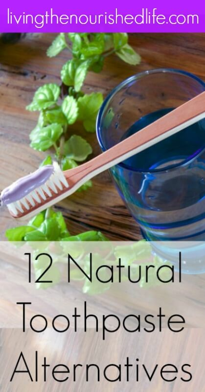 12 Natural Toothpaste Alternatives from The Nourished Life