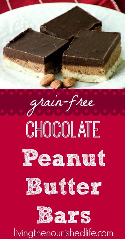 Grain-Free-Chocolate-Peanut-Butter-Bars-The-Nourished-Life