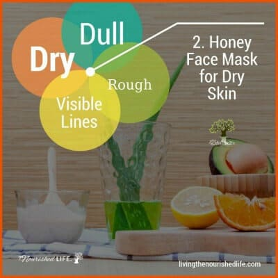 2. Honey Face Mask for Dry Skin