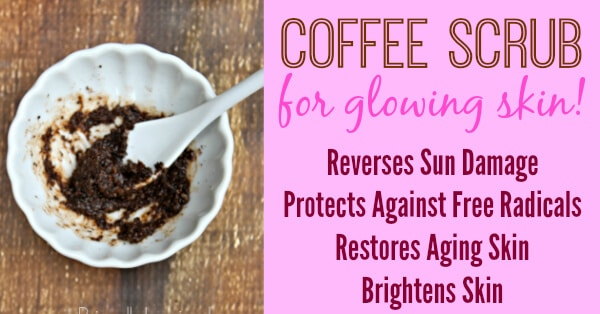 Coconut Oil for Skin: Coffee Scrub for Glowing Skin