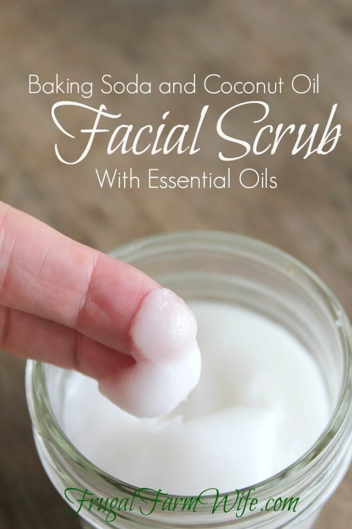 Coconut Oil Skincare Recipes: Facial Scrub