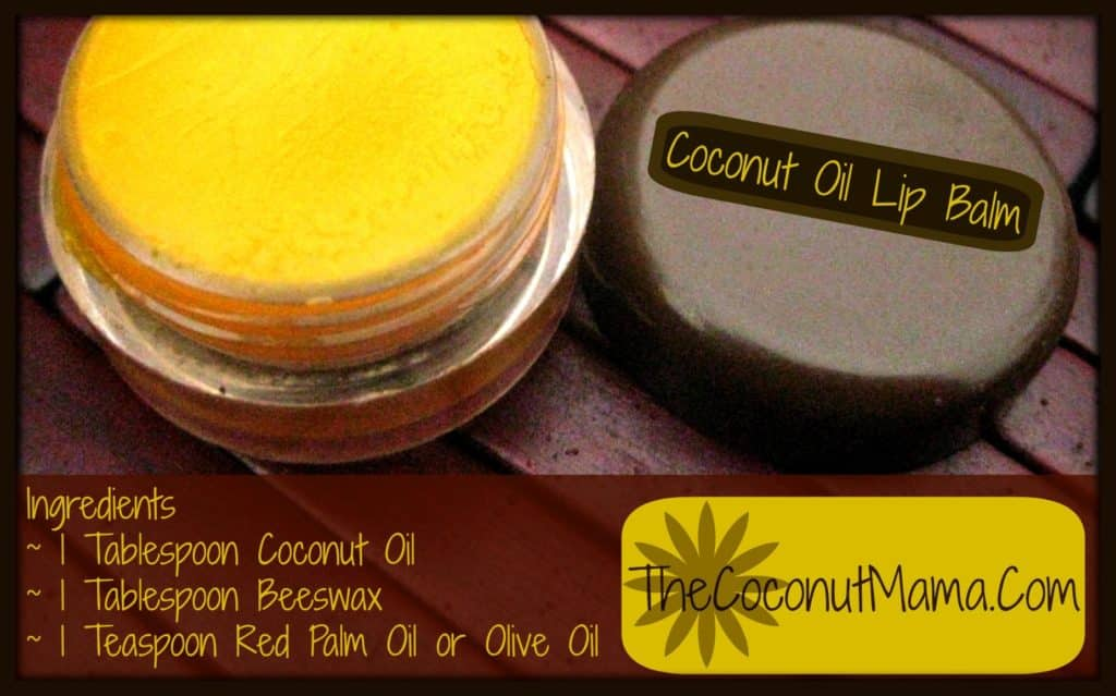 Coconut Oil for Skin: Coconut Oil Lip Balm