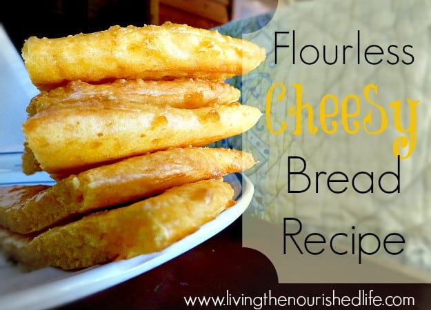 Flourless Cheesy Bread Recipe