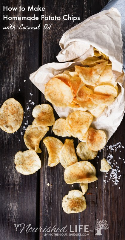 How to Make Homemade Potato Chips with Coconut Oil