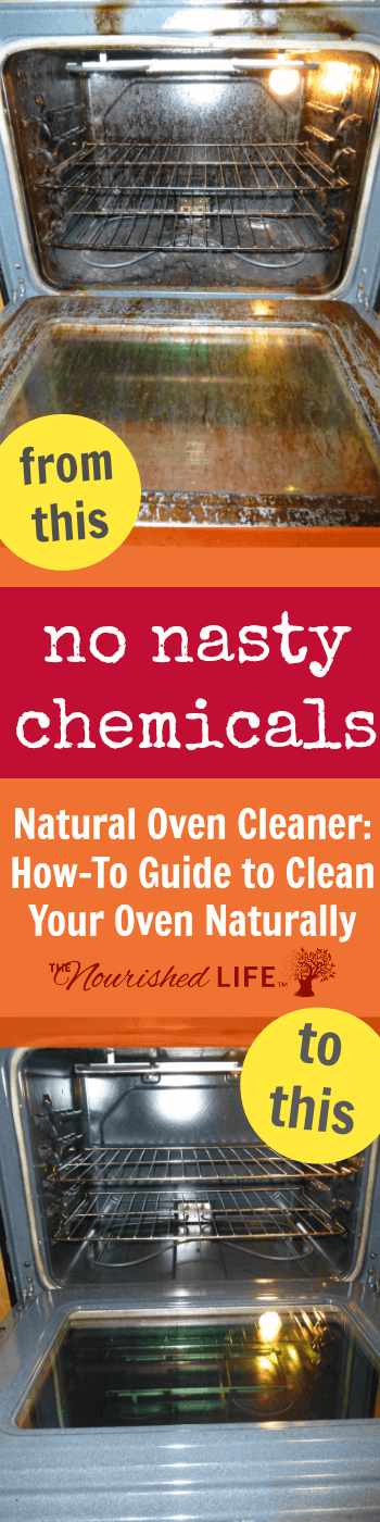 This is the story of how I managed to learn how to clean an oven without using chemicals, and hopefully this natural oven cleaner might help someone else in a similar pinch.