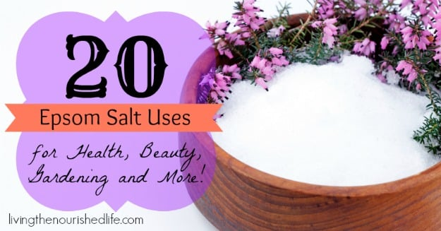 20 Epsom Salt Uses The Nourished Life