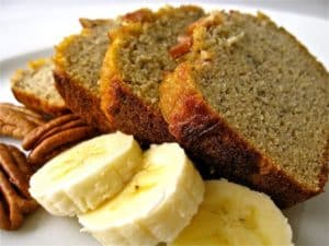 Banana Recipes: Organic Banana Nut Bread Recipe