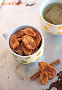 Banana Recipes: Crunchy Cinnamon Banana Chips