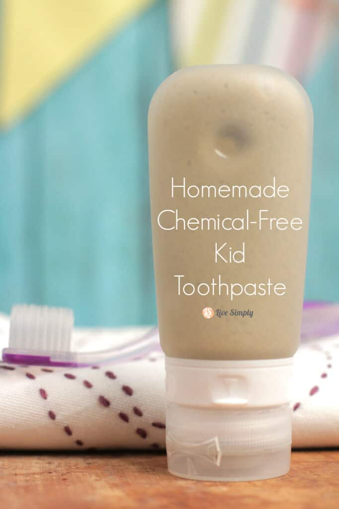 How to Make Toothpaste: Chemical-Free Kid Toothpaste