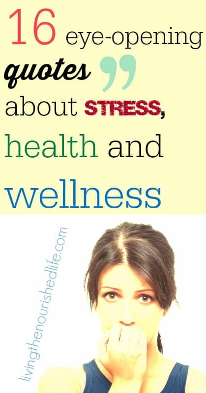 Great Quotes About Stress