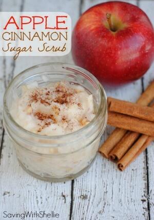 21 Best Homemade Sugar Scrubs: Apple Cinnamon Sugar Scrub