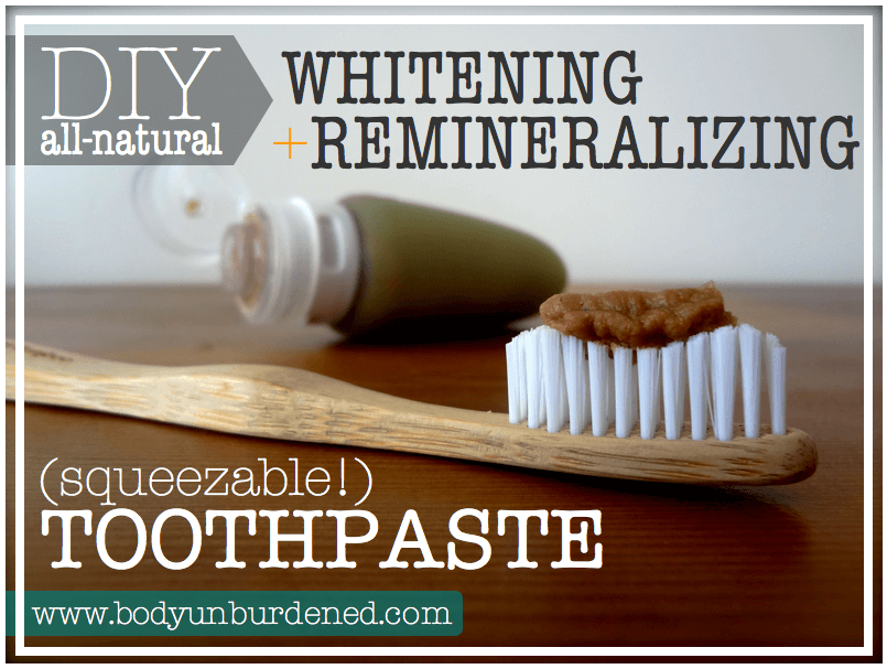 How to Make Toothpaste: Squeezable Remineralizing Toothpaste