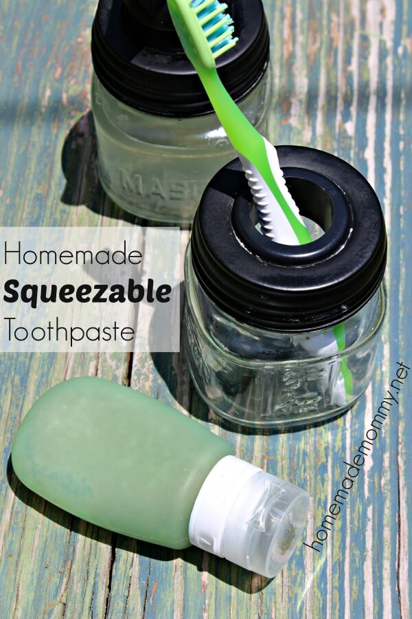 How to Make Toothpaste: Homemade Squeezable Toothpaste