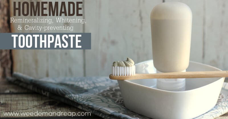 How to Make Toothpaste: Remineralizing, Whitening Toothpaste