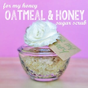 Oatmeal and Honey Sugar Scrub