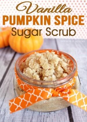Vanilla Pumpkin Spice Sugar Scrub