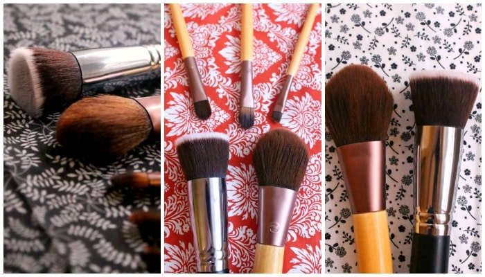 How to Clean Makeup Brushes After - from livingthenourishedlife.com