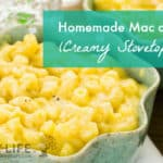 Creamy Mac and Cheese Recipe in a bowl