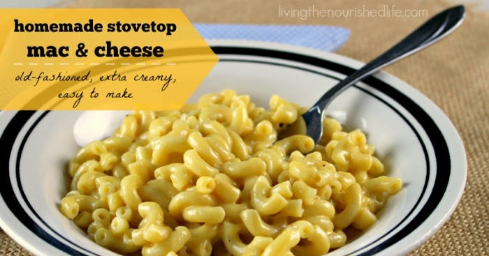 That's how homemade mac and cheese became my favorite comfort food ...