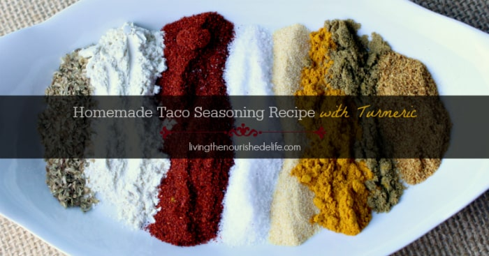 How to make taco seasoning mix for ground meat and chicken