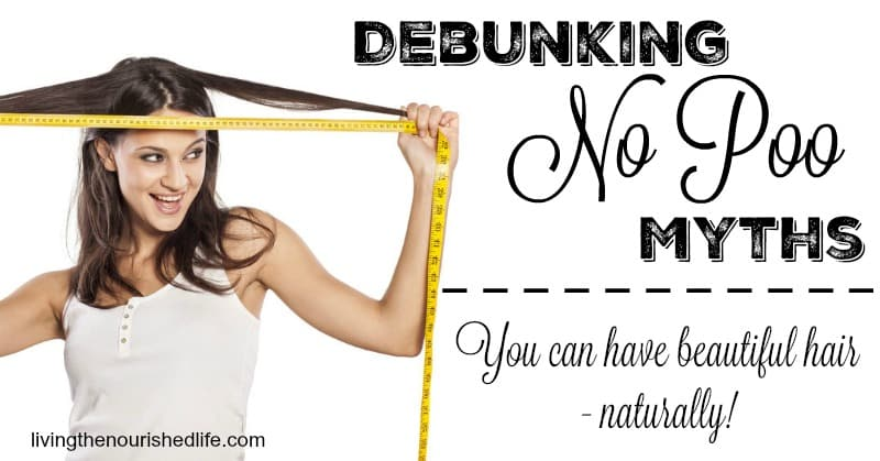 Debunking No Poo Myths: You Can Have Beautiful Hair Naturally: Woman measuring hair