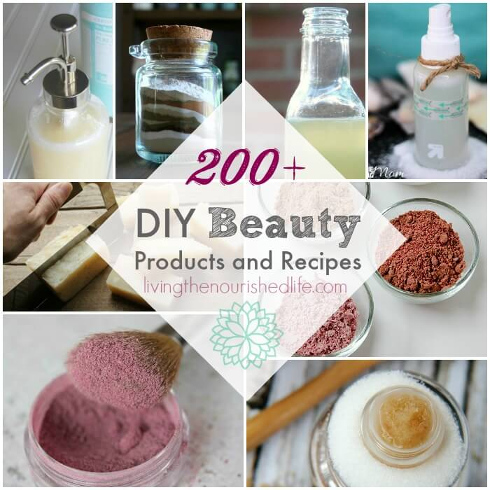 200-Recipes-for-DIY-Beauty-Products-All-Natural-and-Non-Toxic-from-livingthenourishedlife.com
