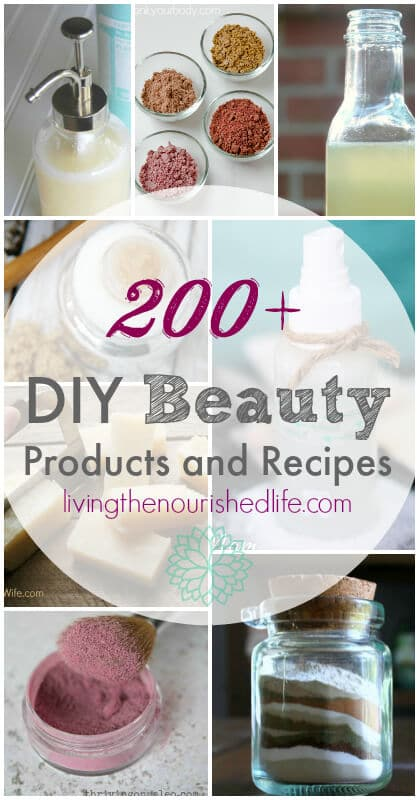 DIY Beauty Recipes and Products -from-livingthenourishedlife.com_