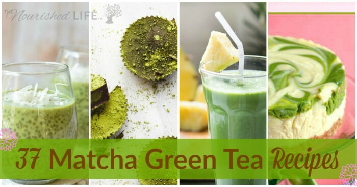 37 Matcha Green Tea Recipes - from livingthenourishedlife.com