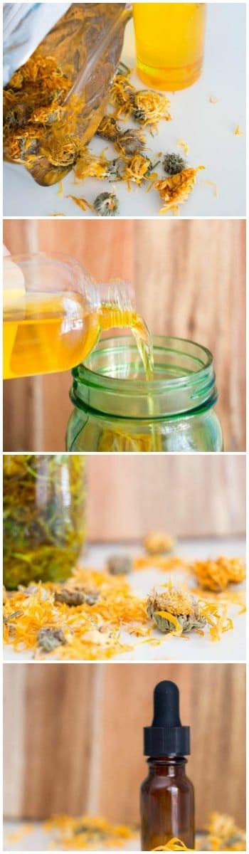 How to Make Calendula Infused Oil