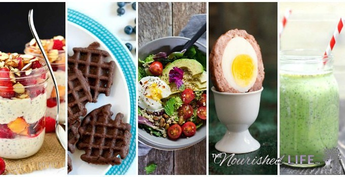 Try one of these easy healthy breakfast recipes today - from livingthenourishedlife.com