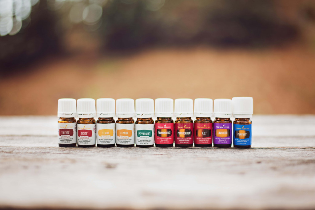 Essential oil kit giveaway at The Nourished Life