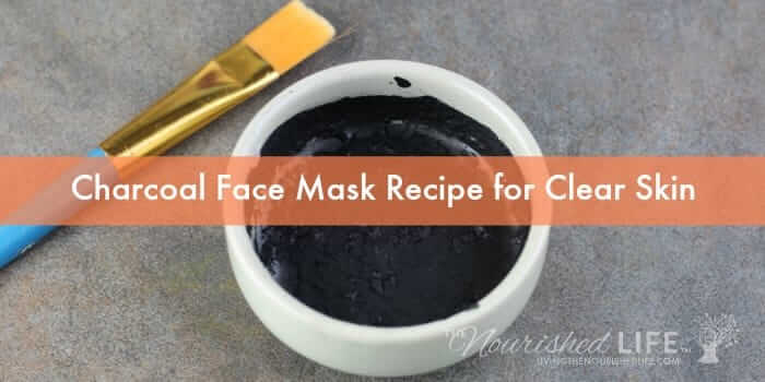 How to make a face mask with activated charcoal powder