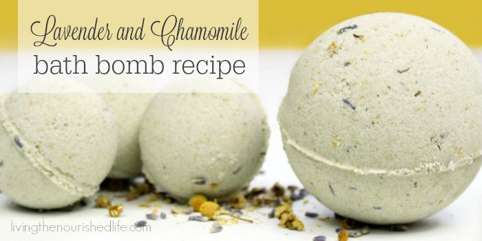Lavender and Chamomile Bath Bomb Recipe