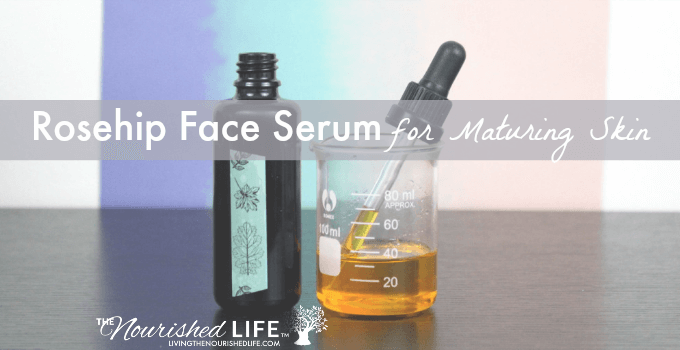Rosehip Face Serum for Maturing Skin