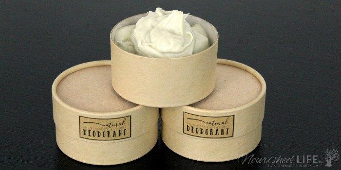 Natural Creamy Magnesium Deodorant Recipe