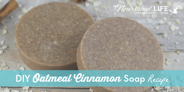 Homemade Oatmeal Cinnamon Soap Recipe
