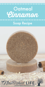 Oatmeal Cinnamon Soap Recipe