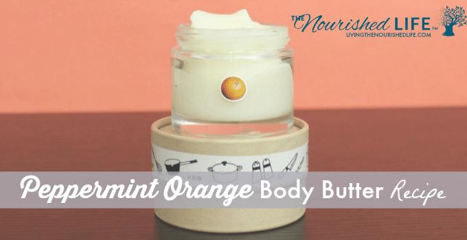 Peppermint Orange Body Butter Recipe