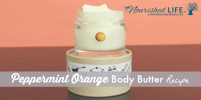 Peppermint Orange Body Butter Recipe