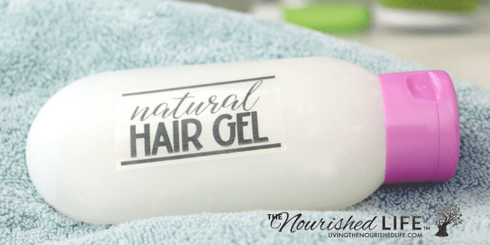 Natural Hair Gel Recipe