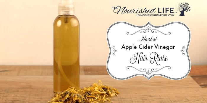 Herbal Apple Cider Vinegar Hair Rinse Recipe