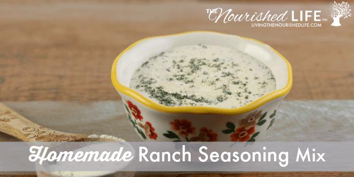 Homemade Ranch Seasoning Mix Recipe