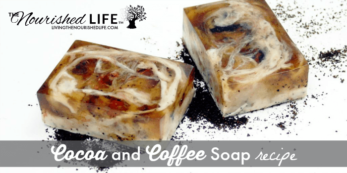 Natural Cocoa and Coffee Soap Recipe