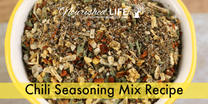 Chili Seasoning Mix Recipe