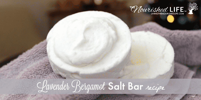 Lavender Bergamot Salt Bar Recipe